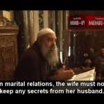 La mujer no puede tener secretos para el hombre