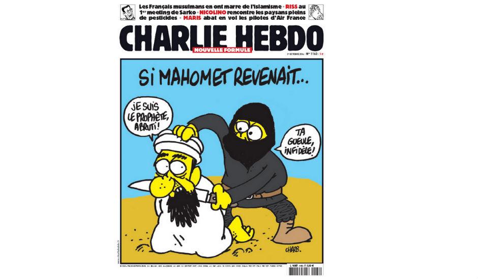 Portada de Charlie Hebdo.