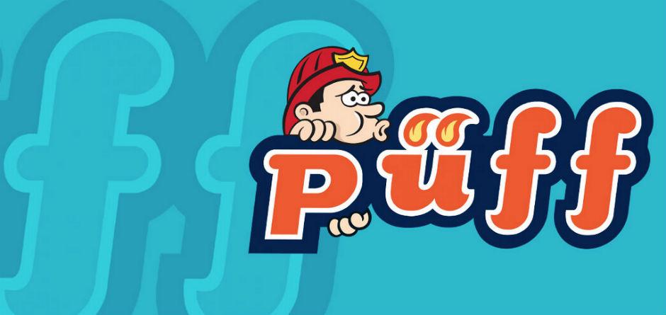 Logo del semanario satírico turco 'Püff'.