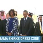 Americanas sin velo en Riad