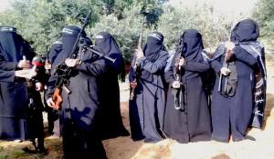 mujeres palestinas yihad