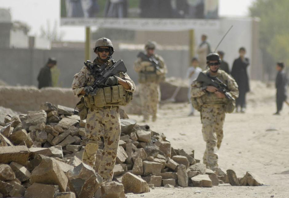 El ejército australiano forma parte del contingente internacional