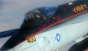 F18 estadounidense en misión de apoyo contra el Estado Islámico