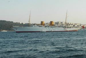 Savarona. El yate de Atatürk será utilizado por Erdogan en sus viajes al extranjero.