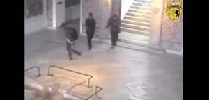 Terroristas en el Museo del Bardo.