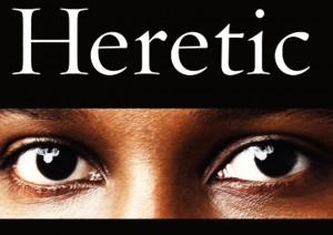 Detalle de la portada del 'Heretic' de Ayaan Hirsi Ali.
