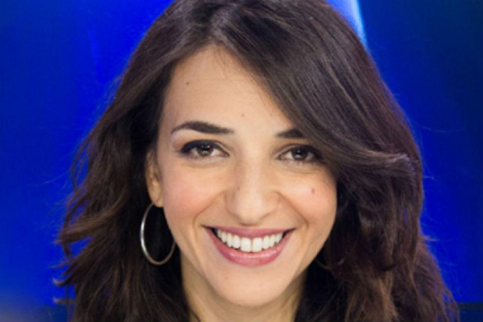 La periodista árabe israelí Lucy Aharish.