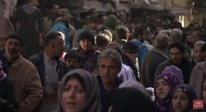 Refugiados de Yarmuk.