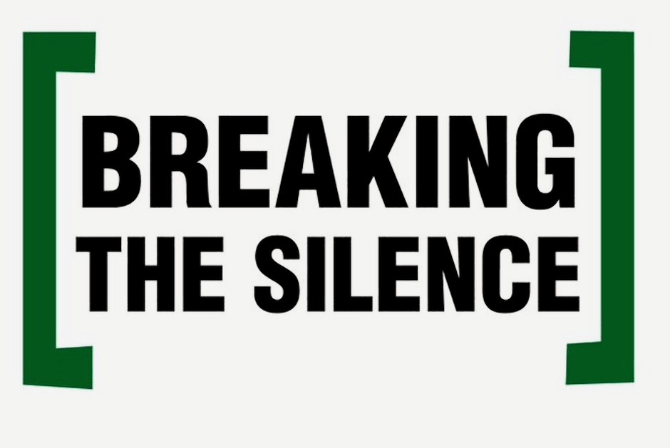 Logo de la ONG israelí Rompiendo el Silencio.
