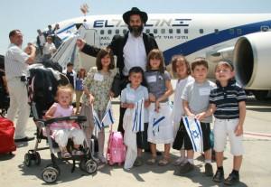 Inmigrantes judíos a Israel.