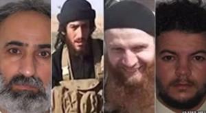 Cabecillas del Estado Islámico.