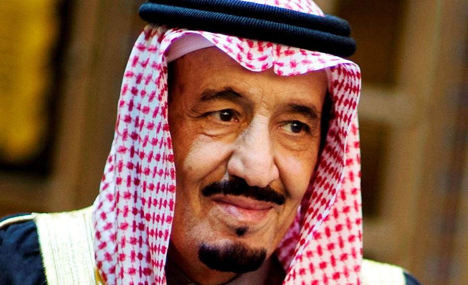 Salman ben Abdulaziz, rey de Arabia Saudí.