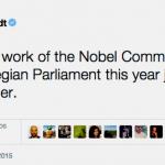 ¿Nobel de la Paz para Irán y sus socios?