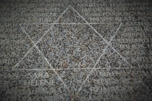 Estrella de David, memorial.