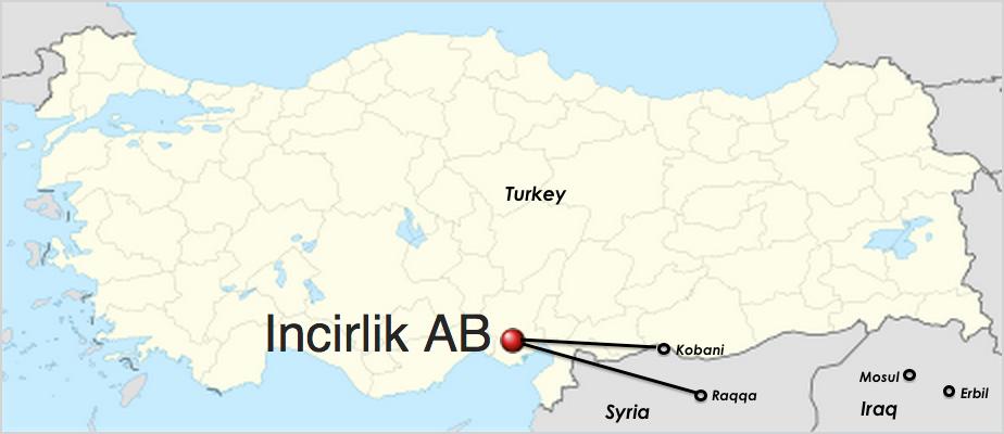 Turquía. Base aérea de Incirlik.