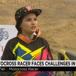 Una crack de las motos en un país donde las mujeres no pueden conducir motos