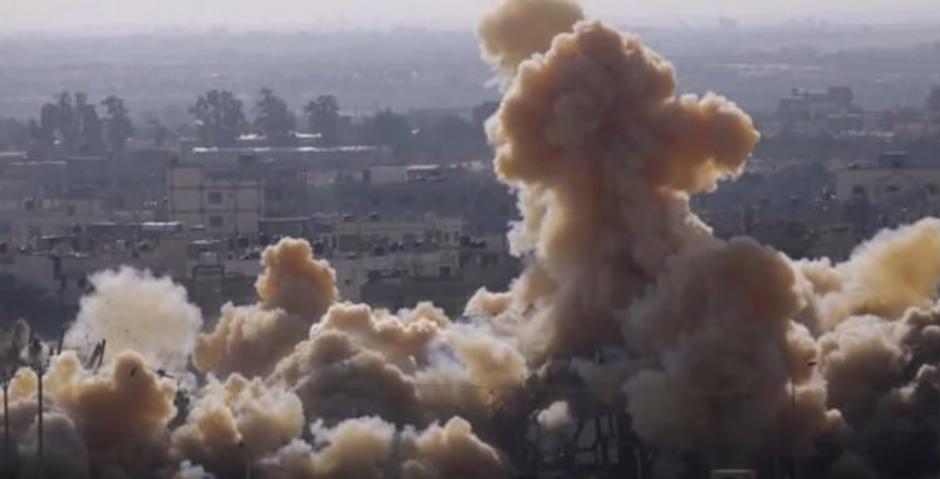 Egipto está demoliendo miles de viviendas en la frontera con Gaza.