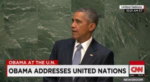 Barack Obama, ante la Asamblea General de Naciones Unidas (29 SEP 15).