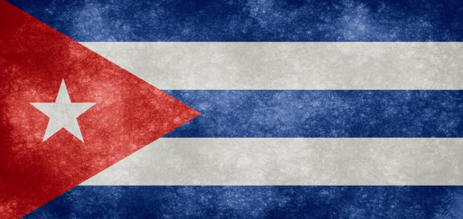Bandera de Cuba.