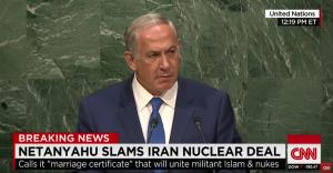 Benjamín Netanyahu en la ONU (OCT 15).
