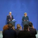 Merkel: Alemania fue la responsable del Holocausto