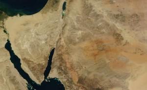 La Península del Sinaí.
