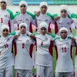 Fútbol: la selección femenina de Irán, plagada de hombres