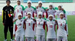 Selección femenina de Irán.