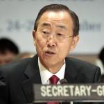 Ban Ki Moon acusa a Israel de alimentar el terrorismo palestino