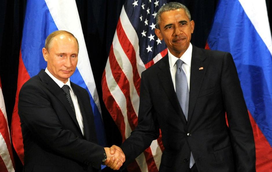 Vladímir Putin y Barack Obama.