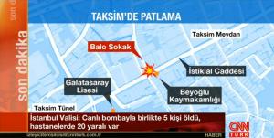 Explosión terrorista suicida