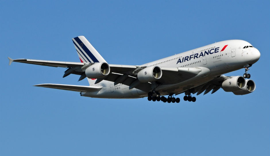 Un avión de Air France.