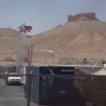 Rusia instala una base militar en Palmira