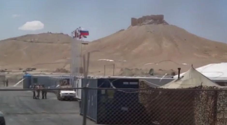 Base militar rusa en Palmira, Siria.