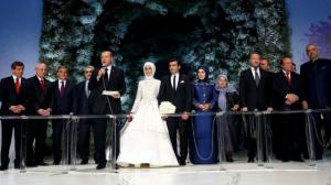 Boda de Sumeyye Erdogan, hija de Recep Tayyip Erdogan.