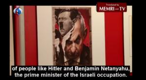 Certamen de dibujo antisemita perpetrado en Teherán en mayo de 2016.