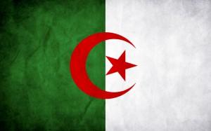 Bandera de Argelia.