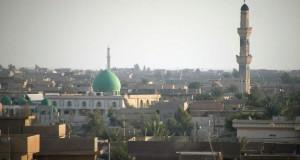 Panorámica de Faluya (Irak).