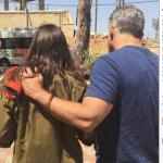 Yair Lapid, en la graduación de su hija autista