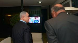 Benjamín Netanyahu y Sameh Sukry, en Jerusalén (10 JUL 16).