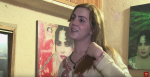 Un transexual pakistaní.