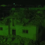 Las casas de los terroristas del Sarona Market, demolidas