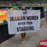 """""""Dejad a las iraníes entrar en sus estadios"""""""