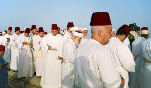 Samaritanos en el Monte Garizim.