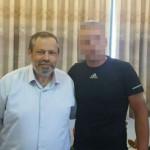 El líder 'colono' y el héroe palestino