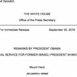 La Casa Blanca 'tacha' a Israel