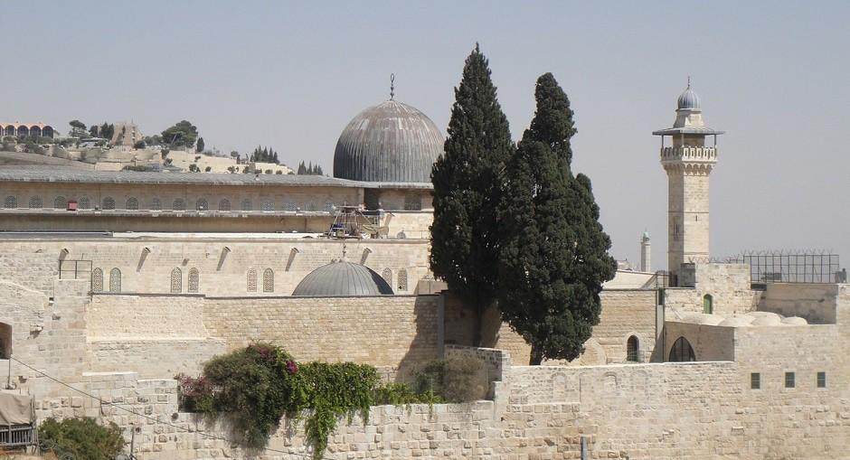Israel, explanada de las mezquitas