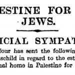 Por qué la Declaración Balfour sigue siendo tan importante