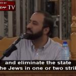 Un clérigo palestino llama a atacar nuclearmente a Israel