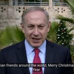 Netanyahu ensalza la herencia común de judíos y cristianos en su felicitación navideña